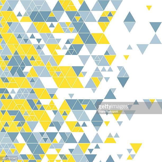 Electricity Triangle Design Background Square