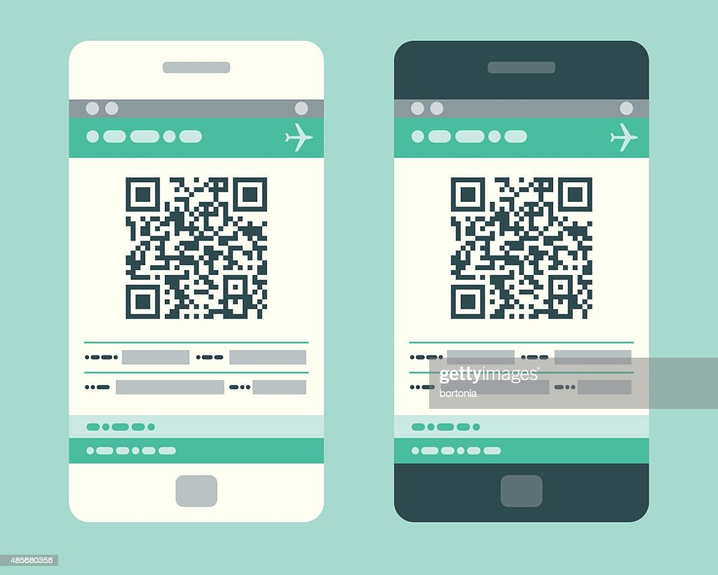 Electronic Boarding Pass on Smartphone