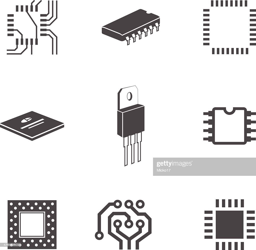 Electronic chips and circuits