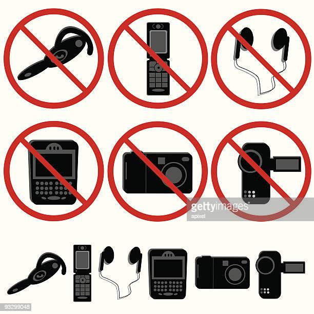 Electronic Devices not allowed