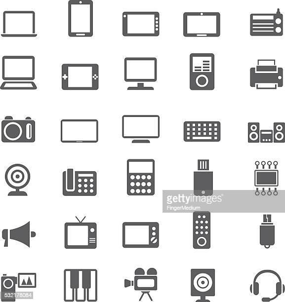 電子機器 - 液晶画面点のイラスト素材/クリップアート素材/マンガ素材/アイコン素材