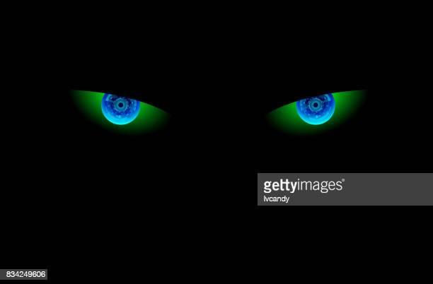 Electronic eye in dark