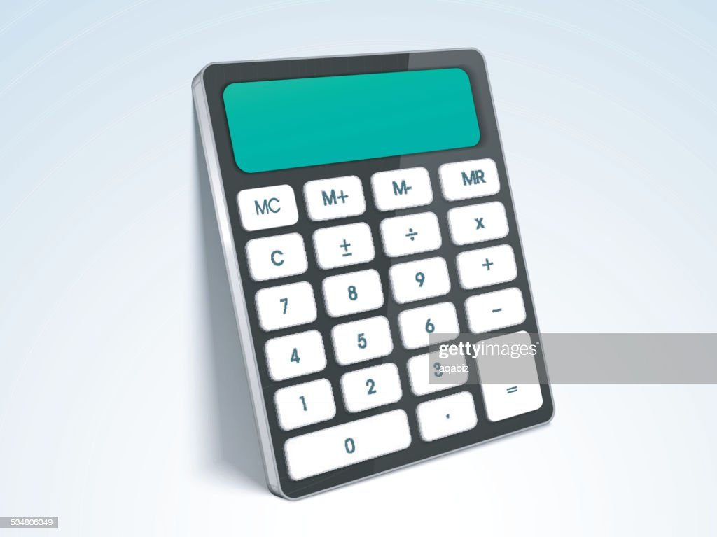 Electronic product calculator.