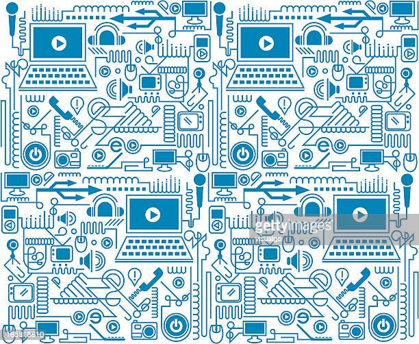 electronic products texture - telephone line stock illustrations, clip art, cartoons, & icons