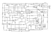electronic project - schematic circuit diagram