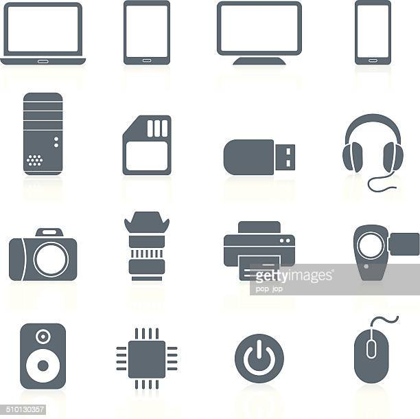 Electronics and Hardware - icons