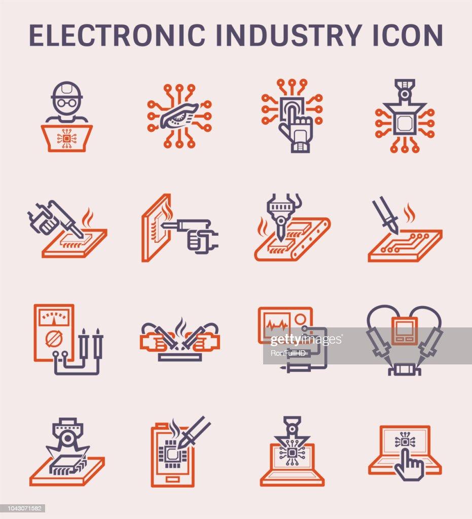 electronics industry icon
