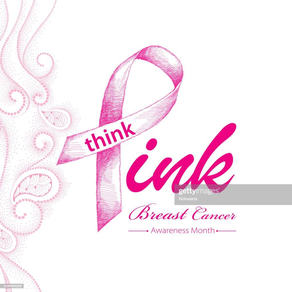 Elegance design for international woman health campaign.