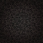 elegance seamless wallpaper with black roses.