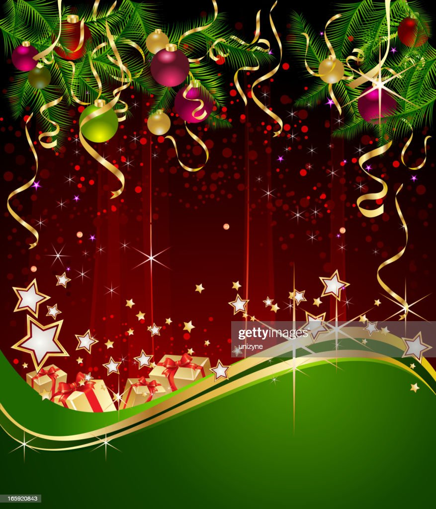 Elegant Christmas Background High-Res Vector Graphic ...