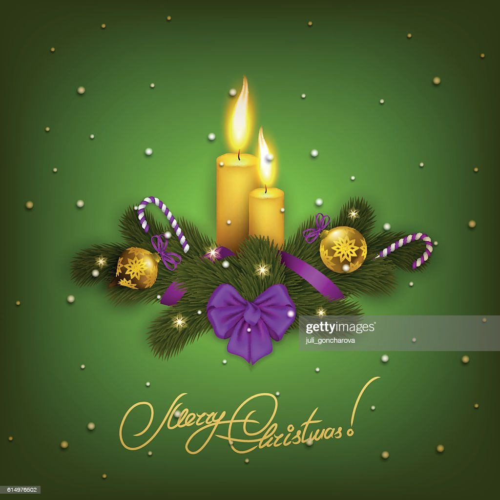 Elegant Christmas Background Hd.Elegant Christmas Background With Balls Stock Vector Getty