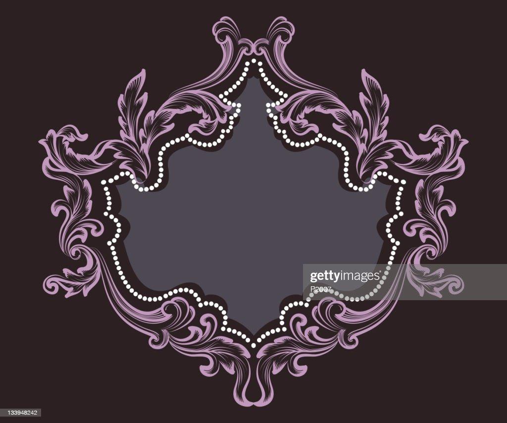 Elegante Rahmen : Vektorgrafik
