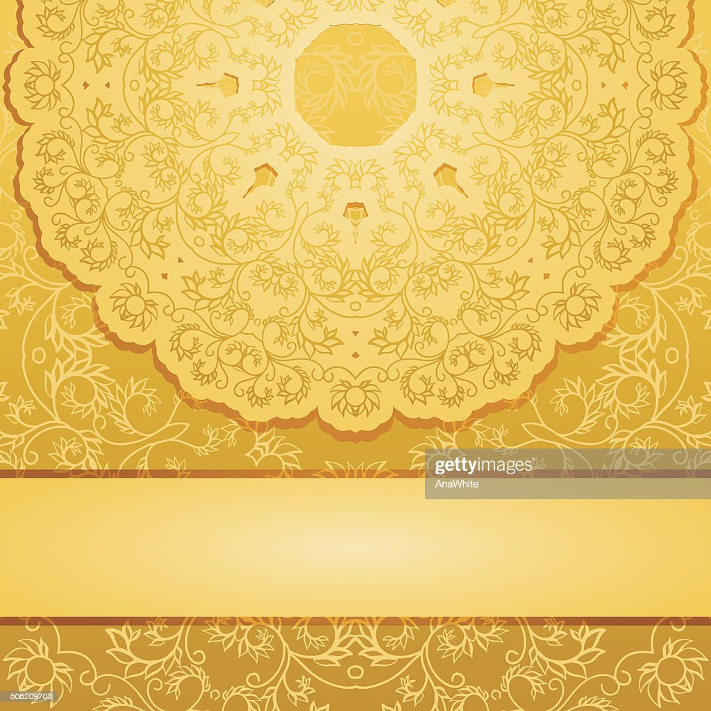Elegant gold backgroundŒ
