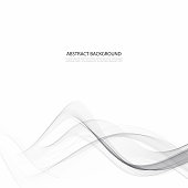 Elegant high-tech swoosh wave stream background. abstract smooth gray modern Graphic soft card template.