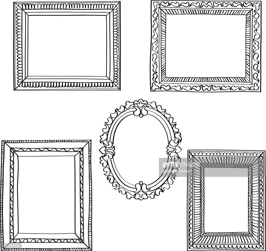 Elegant Ornate frames