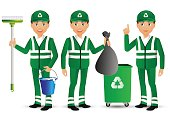 Elegant People-Professional.Street Cleaner