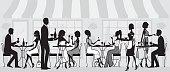 Elegant Restaurant People