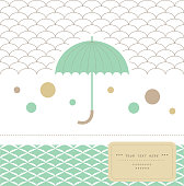 Elegant umbrella.