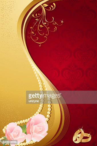 Elegant Wedding Background Vector Art | Getty Images