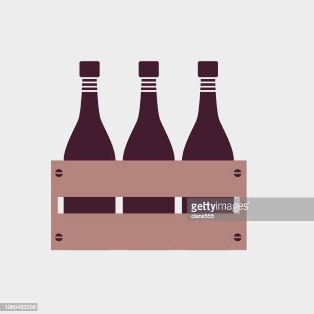 Elegant Wine Icons