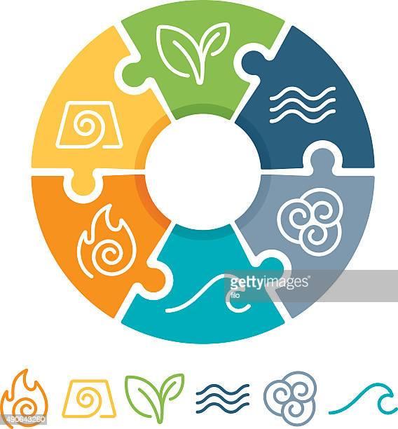 構成銘柄 - 元素記号点のイラスト素材/クリップアート素材/マンガ素材/アイコン素材