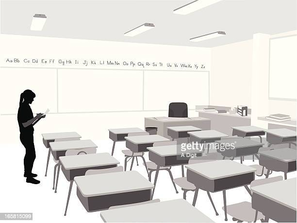ilustraciones, imágenes clip art, dibujos animados e iconos de stock de elemental - edificio de escuela primaria