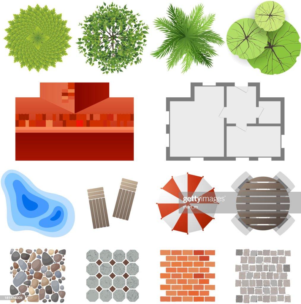 Elements for landscape design