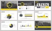 Elements for presentation templates.