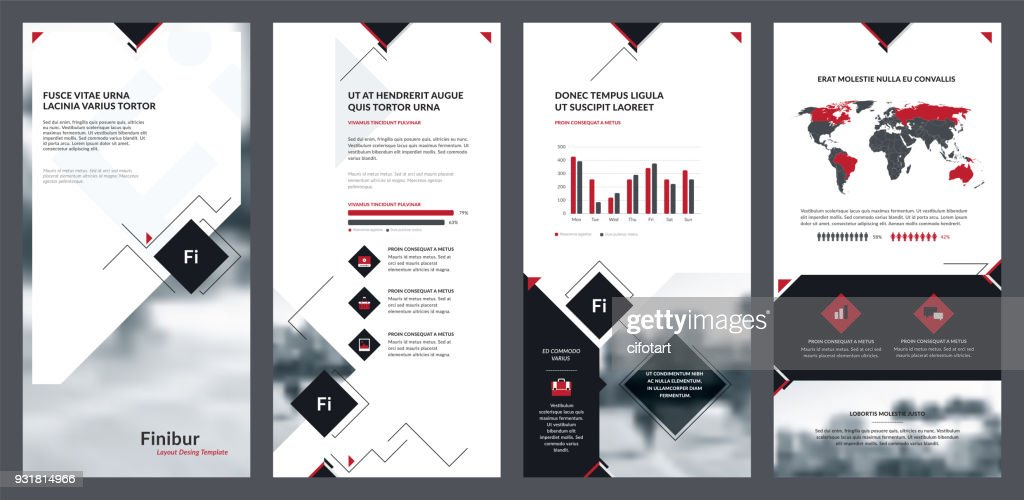 Elements of infographics for flyer template and banner templates.