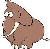 elephant calf cartoon