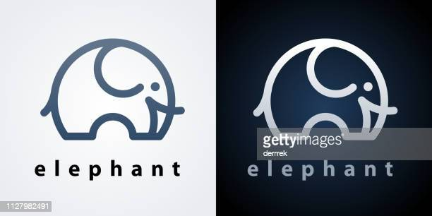 ilustrações de stock, clip art, desenhos animados e ícones de elephant - elefante