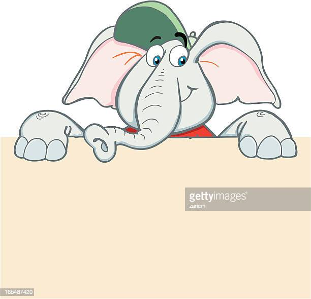 illustrazioni stock, clip art, cartoni animati e icone di tendenza di elefante - vertebrato