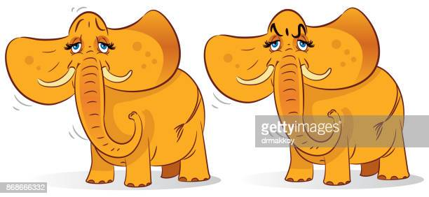elephant - mozambique stock illustrations, clip art, cartoons, & icons