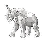 Elephant - vector illustration