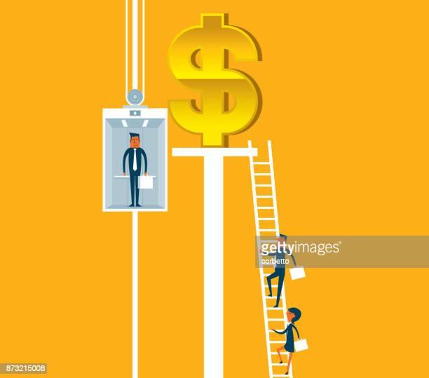 Elevator - Businessman