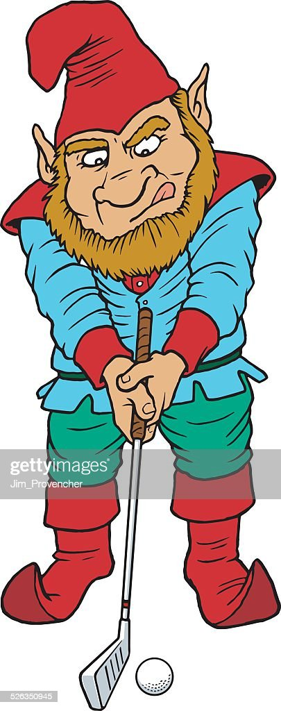 Elf Golfing with Iron
