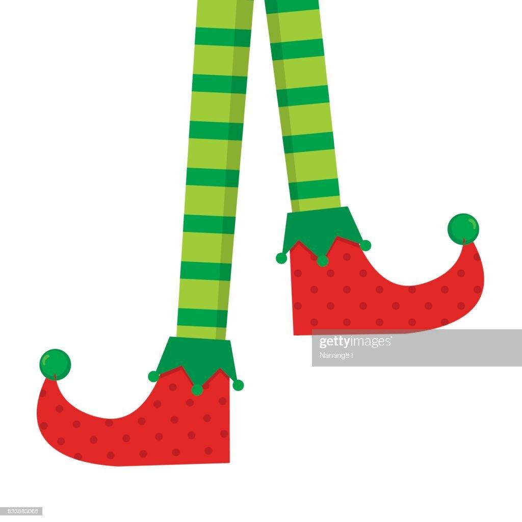 Elf Socken Vektor Clipart Vektorgrafik | Getty Images