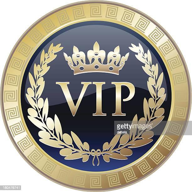 vip elite award medal - celebrities stock illustrations