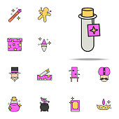 elixir in vitro icon. magic icons universal set for web and mobile