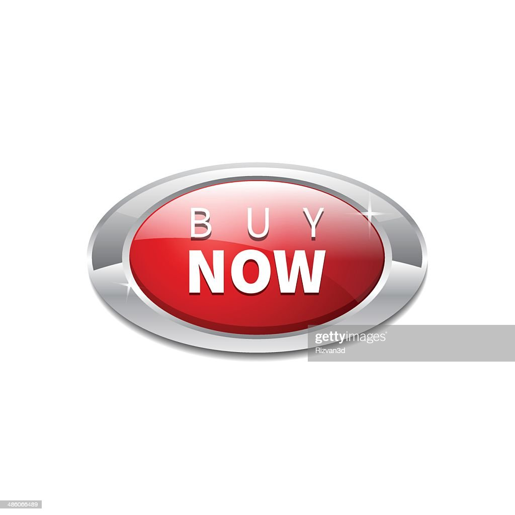Elliptic Buy Now Button Vector Icon