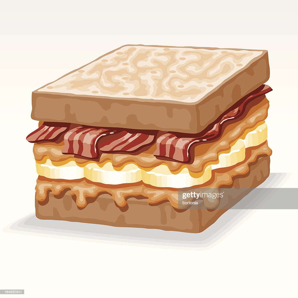 Elvis Sandwich High Res Vector Graphic Getty Images