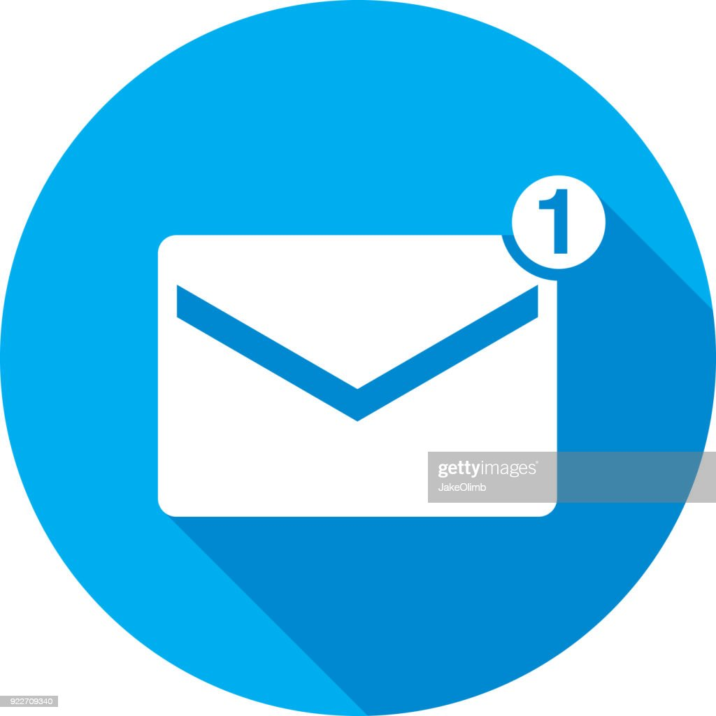 Email Icon Silhouette Vector Art Getty Images