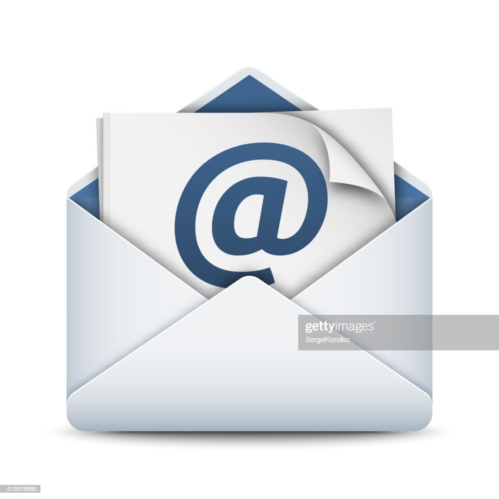 E-mail icon, vector illustration
