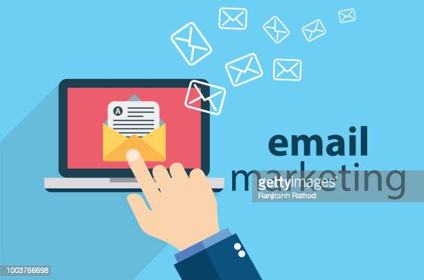 e-mail marketing - e mail stock illustrations