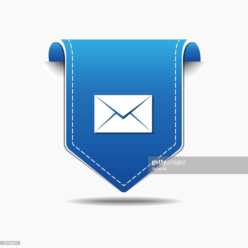 Email Vector blue Web Icon