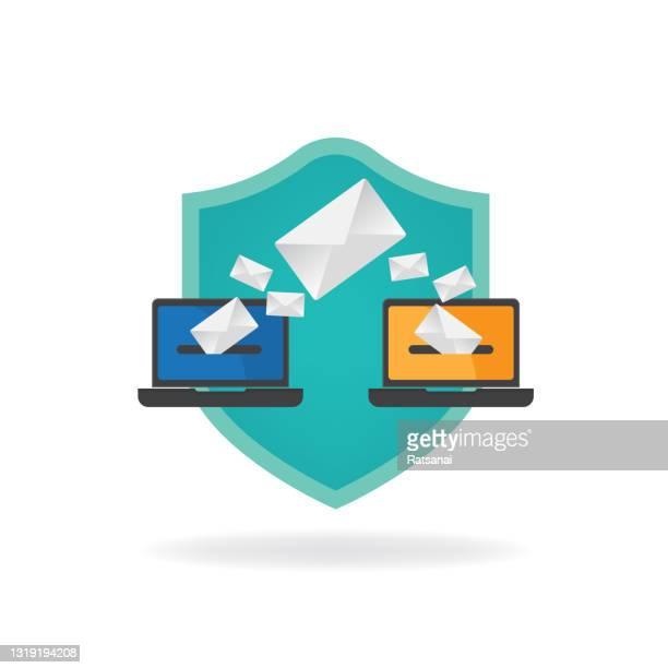 電子メール - send点のイラスト素材/クリップアート素材/マンガ素材/アイコン素材