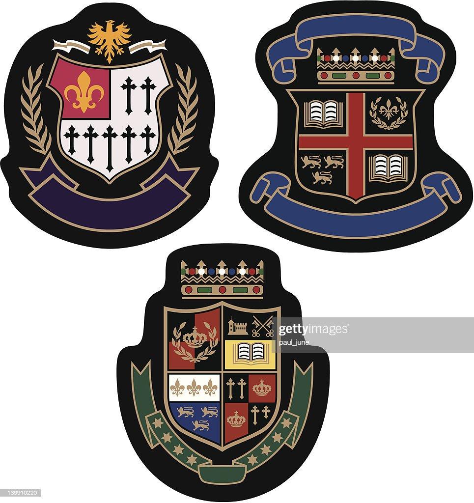 emblem college badge