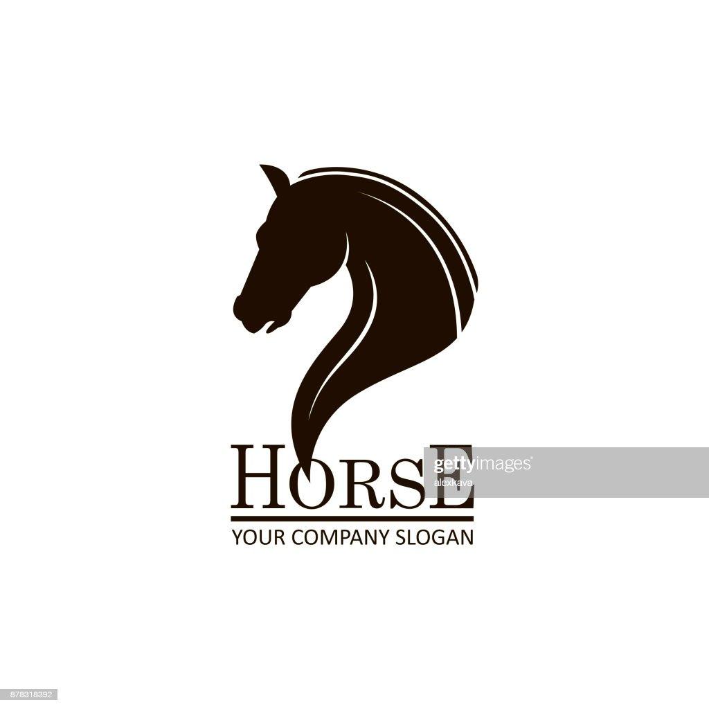 emblem of horse head