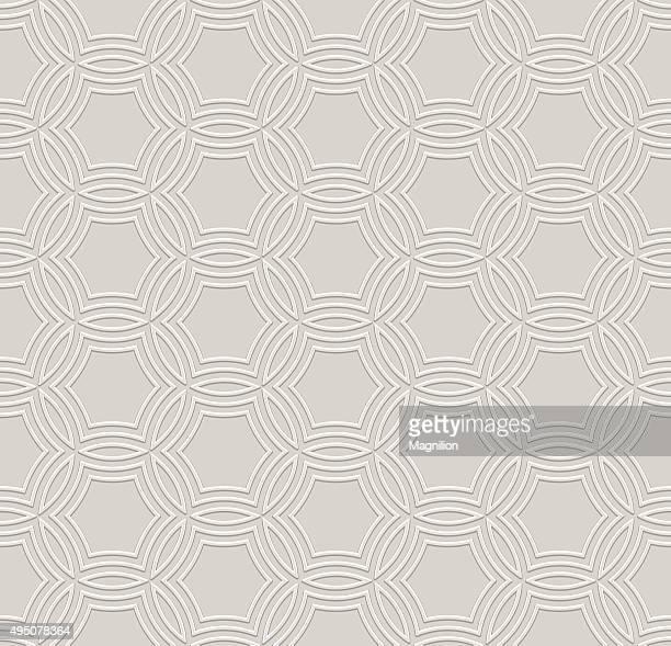 embossed seamless pattern - brocade stock illustrations
