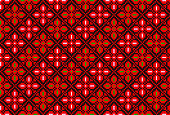Embroidered cross-stitch pattern. Palestinian national seamless ornament